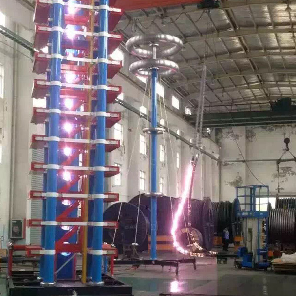 IMPULSE TESTING on High Voltage Single Phase Voltage Transformer