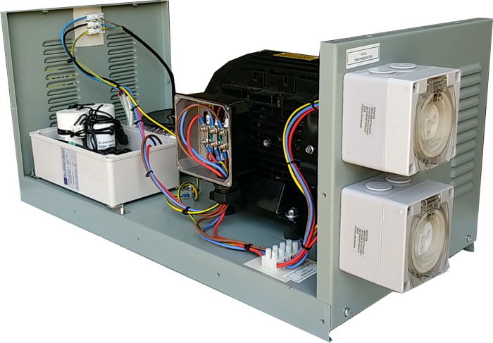 10HP throughput Complete Single to 3 Phase Converter Part No. MMT8-0