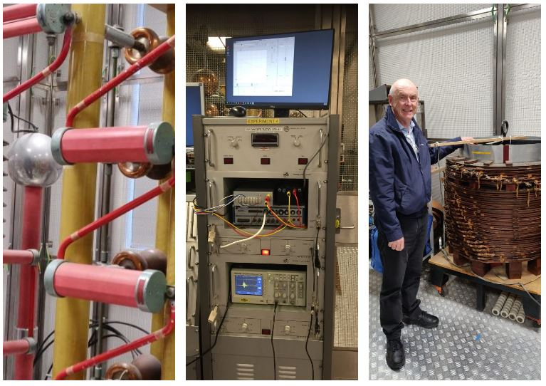Team visit to UNSW Impulse Testing Lab
