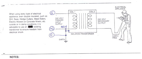 Rcd Isolation Transformer